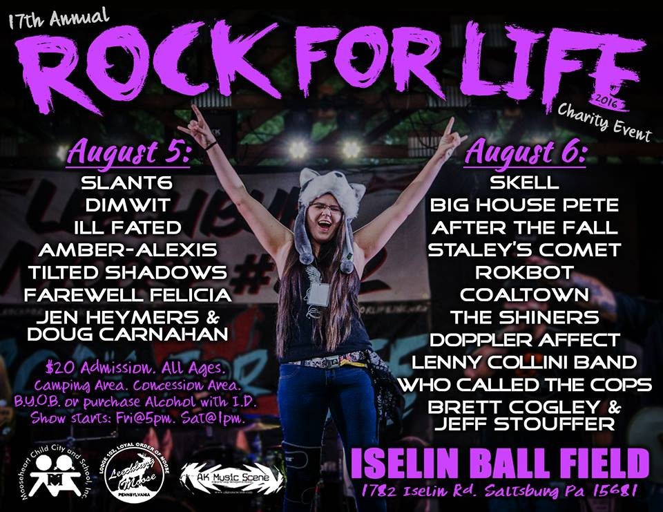 Rock for Life Concert Series: RfL 17
