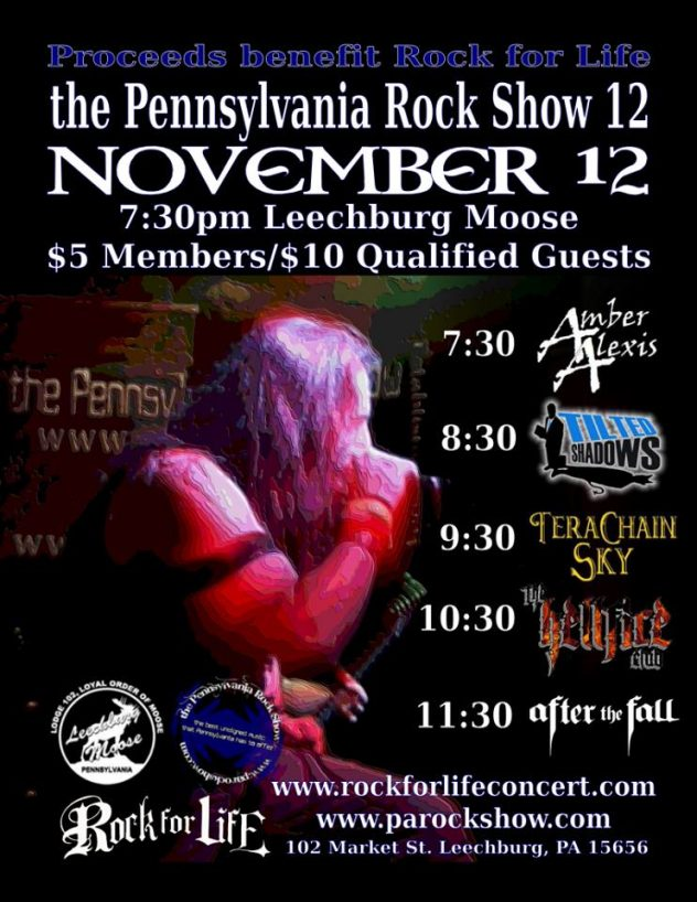the Pennsylvania Rock Show 12
